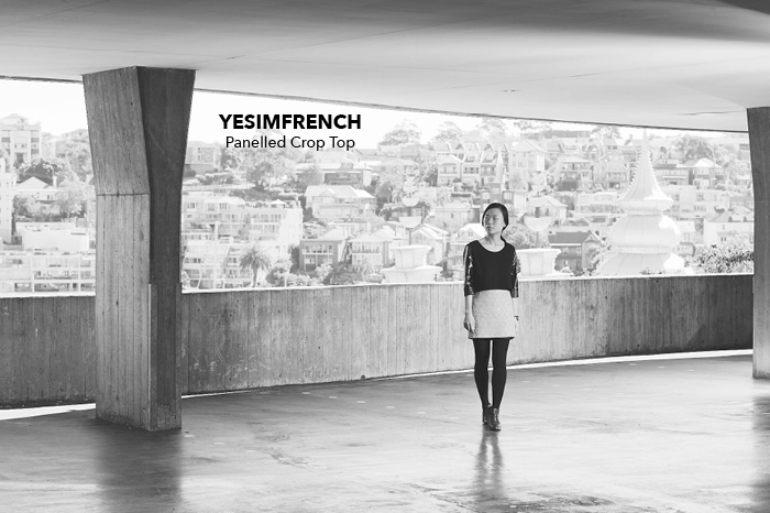 wllw yesimfrench crop top