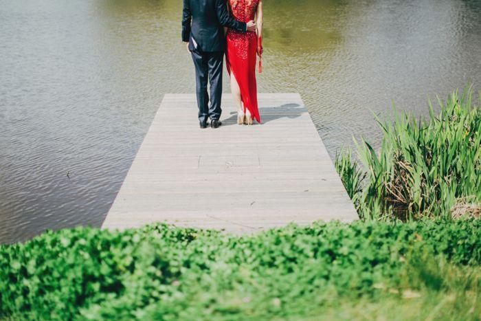 David & Mun Married - 0478