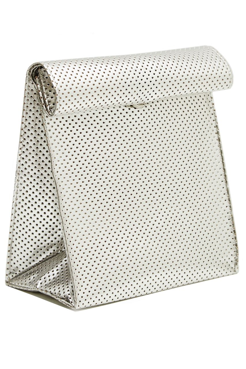 BAG03FW16 silver holed metallic 3-4